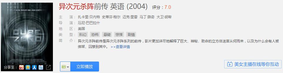 美国大片《异次元杀阵》VS 中国动画片《魔方大厦》 - cube_2