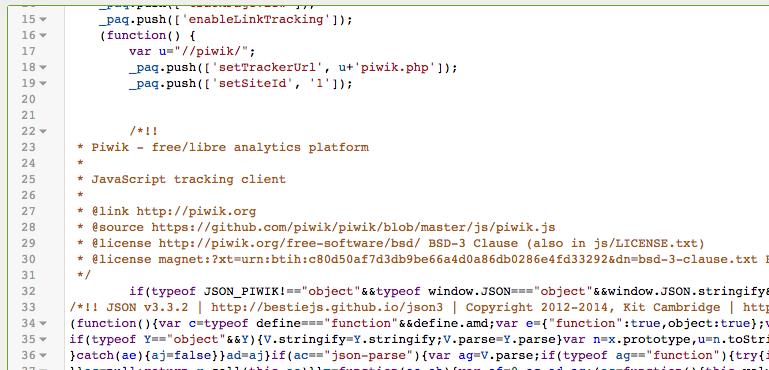 利用油猴脚本加载piwik的代码,创造测试环境 - piwik_js