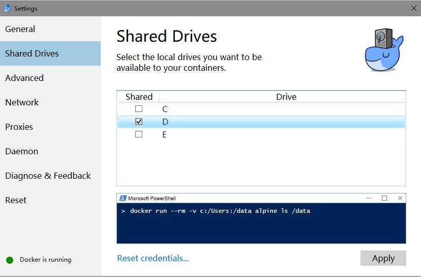 win10系统,docker设置共享文件夹 - share_folder_01